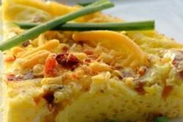 Bacon Cheese Frittata Recipes — Dishmaps