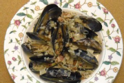 Beer & Bacon Mussels
