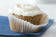 Carrot Ginger Cupcakes with Spiced Cream Cheese AllRecipes.m Carrot Ginger Cupcakes with Spiced Cream Cheese Recipes