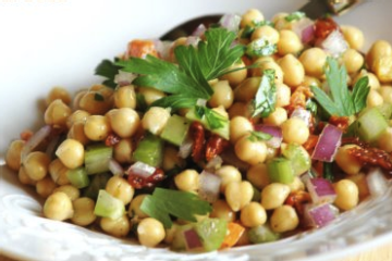 Chickpea Salad Recipezaar 10 1.l Chickpea Salad Recipes