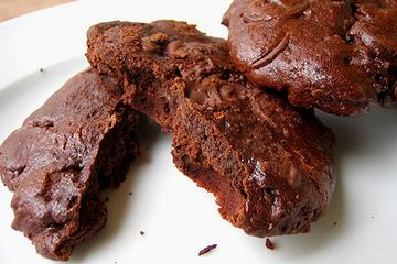 Double Chocolate Cabernet Cherry Cookies