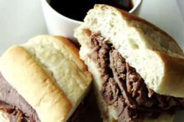 Easy Slow Cooker French Dip Allrecipes 2.l Easy Slow Cooker French Dip  Recipes