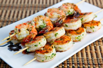 Grilled Shrimp With Garlic Herbs Recipezaar 2.l Grilled Shrimp With ...