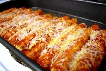 more enchiladas sweet potato and chicken enchiladas with chile sauce ...