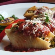 Shrimp Stuffed Jumbo Pasta Shells