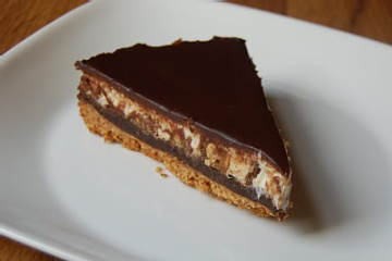 Snickers Pie With Fudge Sauce Recipezaar 2.l Snickers Pie with Fudge Sauce  Recipes
