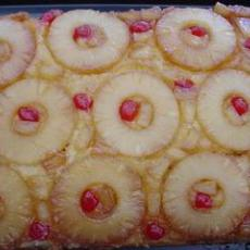 Super Easy Pineapple Upside Down Cake