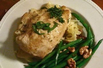 Tarragon Chicken Fricassee Recipe — Dishmaps